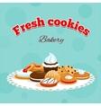 Bakery retro poster vector