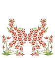 Ottoman art flowers sixteen version vector