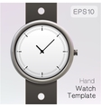 Wrist watch template vector
