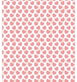 Valentine seamless with hearts vector