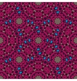Vintage purple seamless pattern with filigree vector