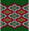 Knit seamless jacquard ornament pattern vector
