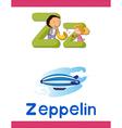 Learning alphabet z vector