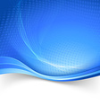 Blue border speed lines abstraction template vector