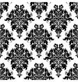 Intricate foliate arabesque seamless pattern vector