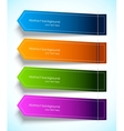 Set of colorful tag vector