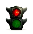 Red light vector