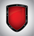 Security shield vector