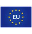 Eu flag european union vector