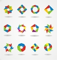Colorfull logo template vector