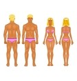 Male  female boy set  collection vector