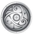 A vikings shield vector