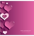 Modern bright valentines day background vector