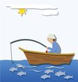 The fisherman vector