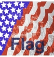 - usa flag in white background vector
