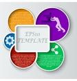 Teamwork social infographic diagram presentation vector