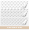 Seamless geometric texture vector