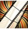 Grunge retro cinema background vector