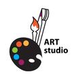 Art studio vector