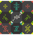 Abstract symbol set vector