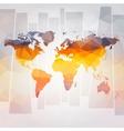 Modern concept of world map vector