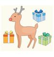 Cute christmas cards vector