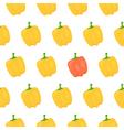 Sweet pepper seamless pattern vector