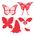 Butterfly digital clipart 2 vector
