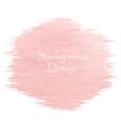 Watercolor peach color strokes vector