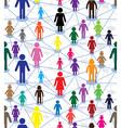 Generation diagram people vector