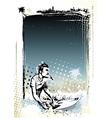 Surfer poster vector