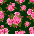 Rose seamless vector