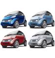 Modern smart cars vector