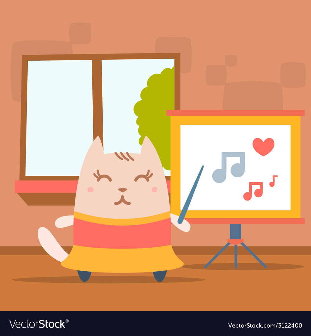 Character dancer in dress colorful flat vector | Price: 1 Credit (USD $1)