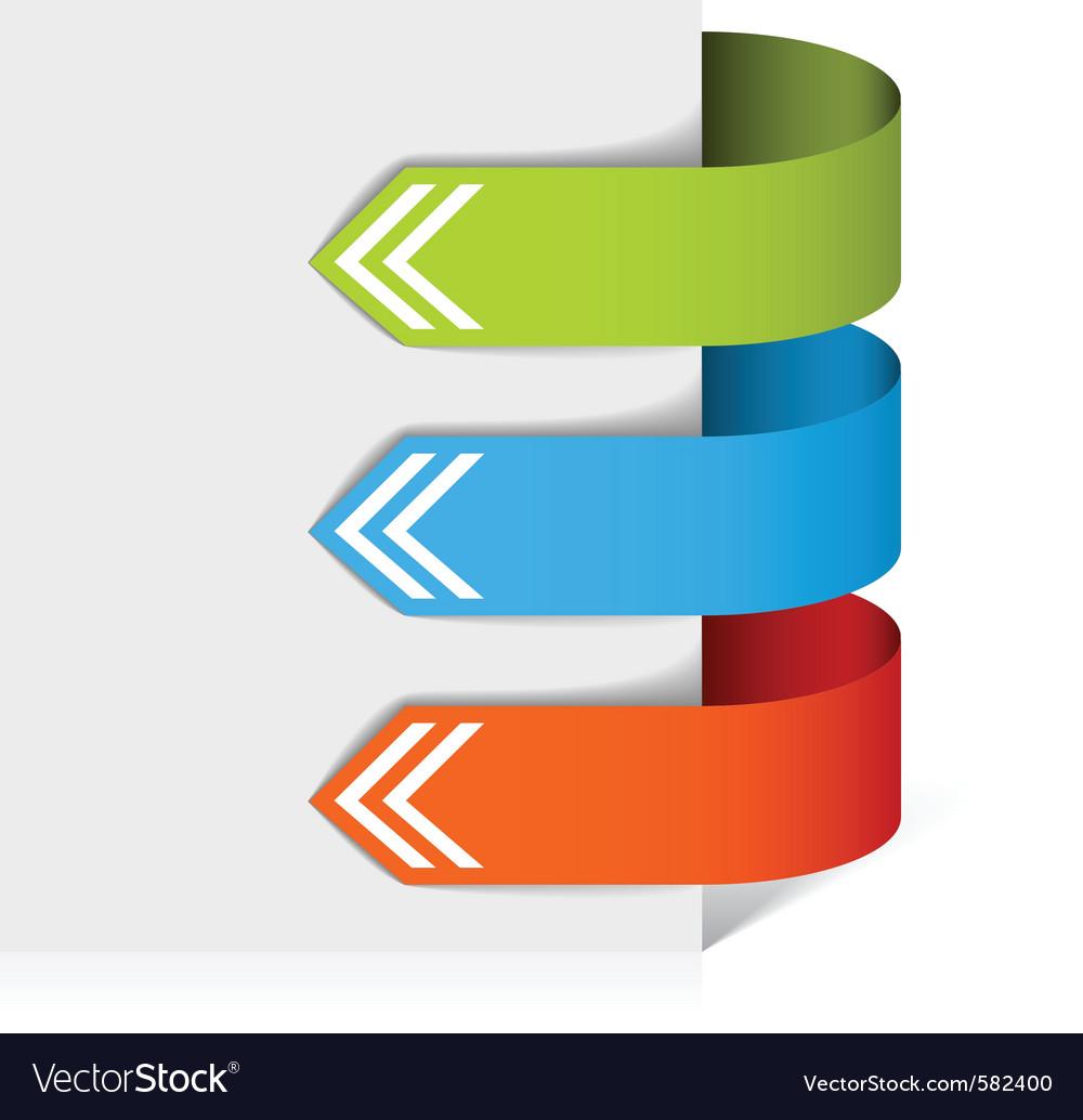 Colorful arrows vector   Price: 1 Credit (USD $1)