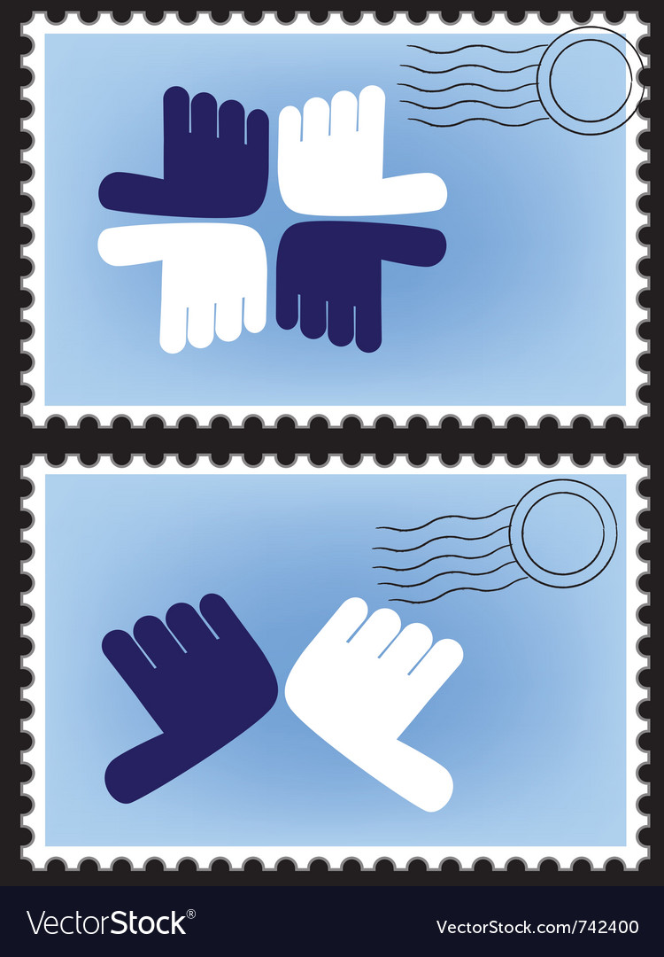 Stamp postage vector | Price: 1 Credit (USD $1)