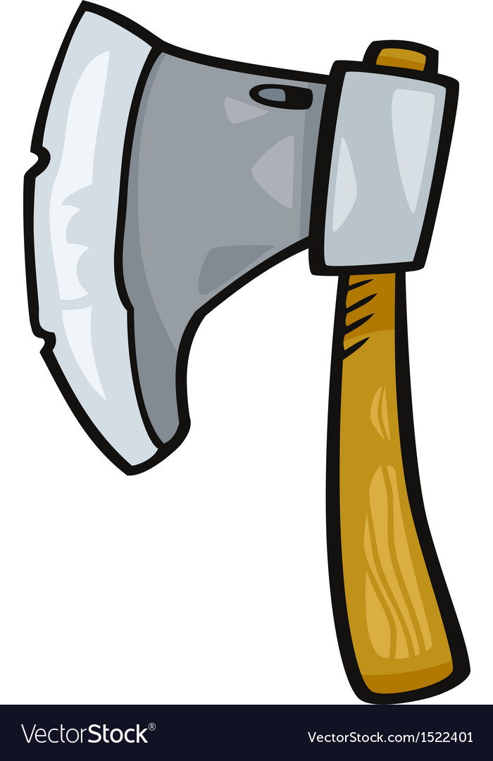 Axe clip art cartoon vector | Price: 1 Credit (USD $1)