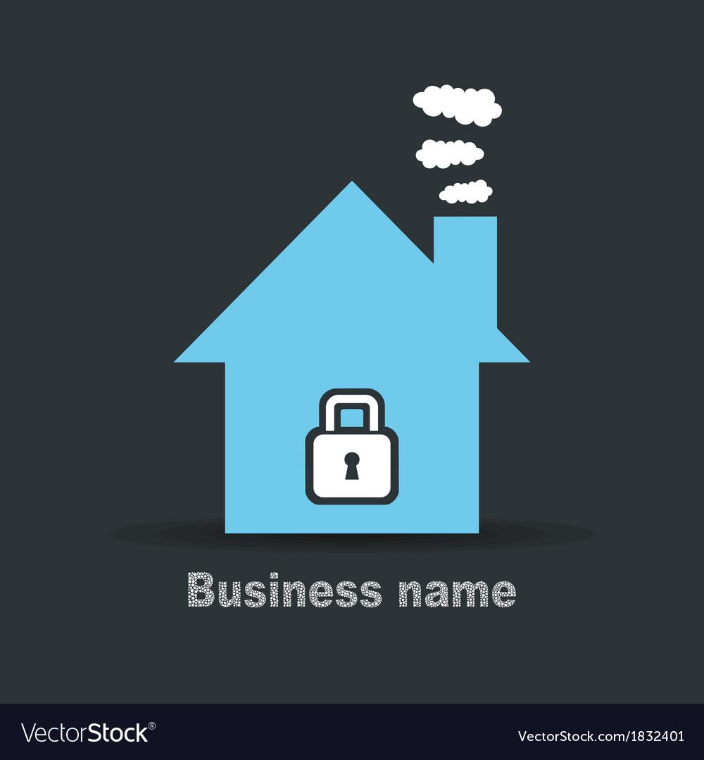 House lock vector | Price: 1 Credit (USD $1)