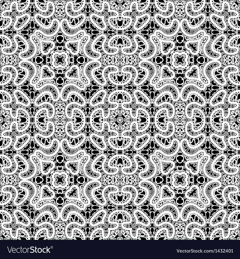 White lace pattern vector | Price: 1 Credit (USD $1)