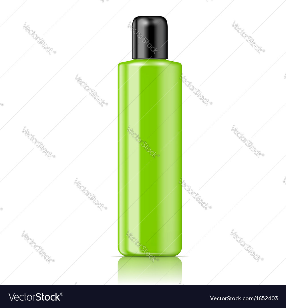 Color tubular bottle template vector | Price: 1 Credit (USD $1)