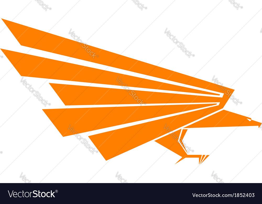 Eagle mascot vector   Price: 1 Credit (USD $1)