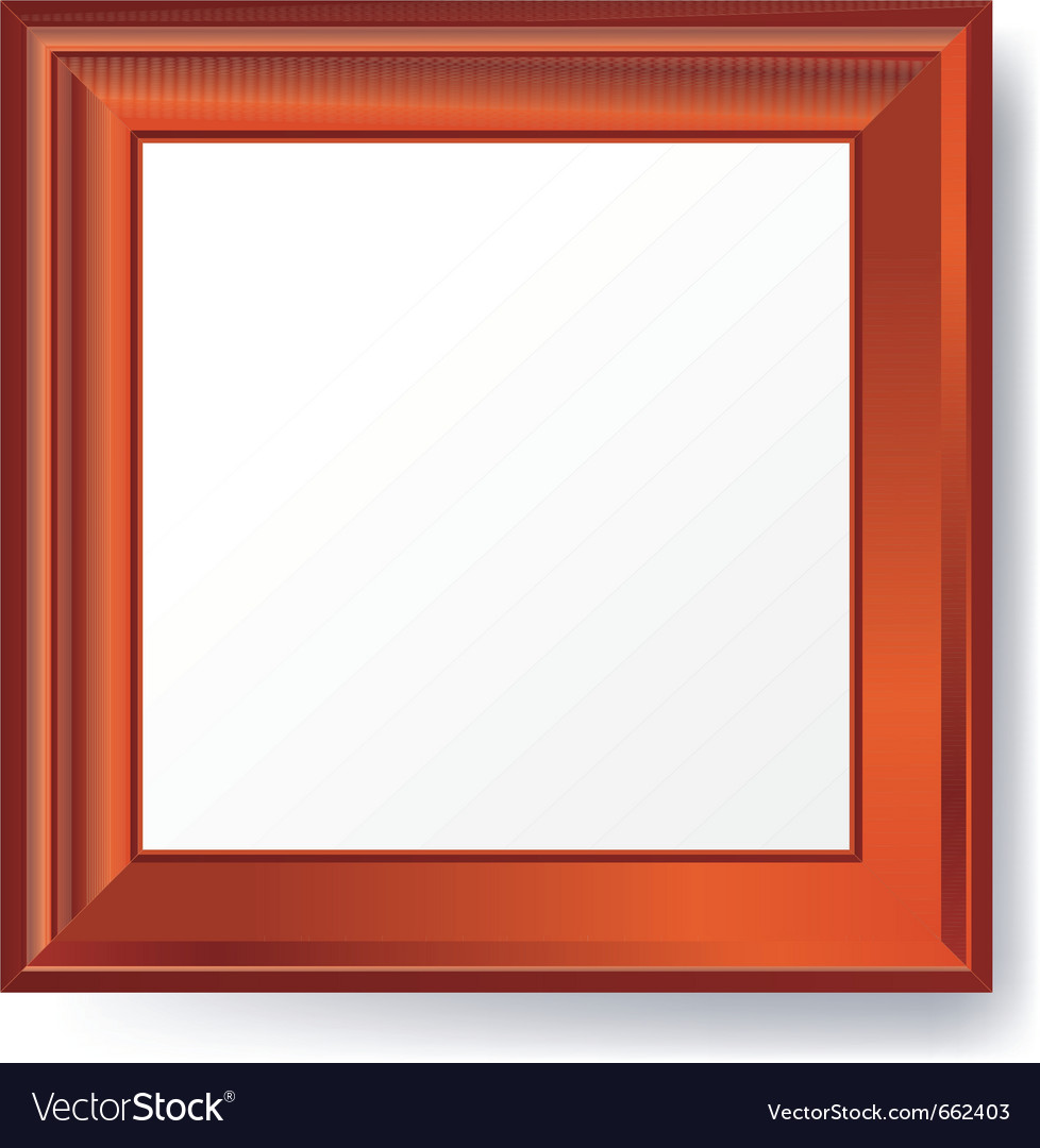 Empty photo frame vector | Price: 1 Credit (USD $1)