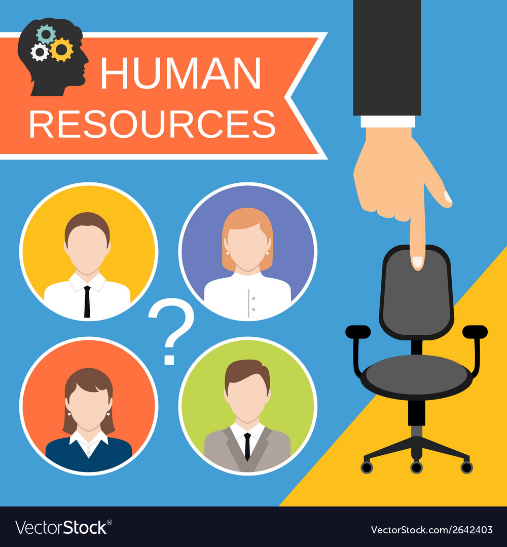 Human resources concept vector | Price: 1 Credit (USD $1)