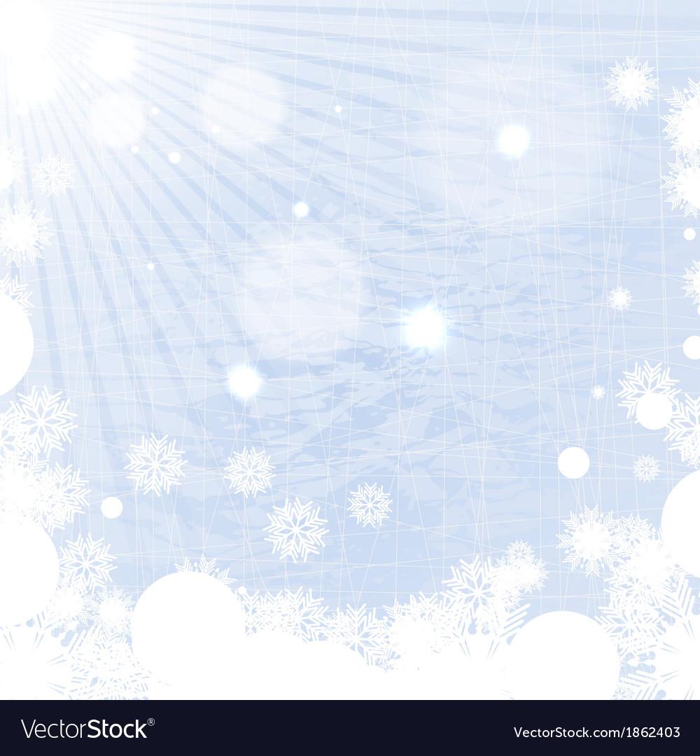 Winter background vector | Price: 1 Credit (USD $1)