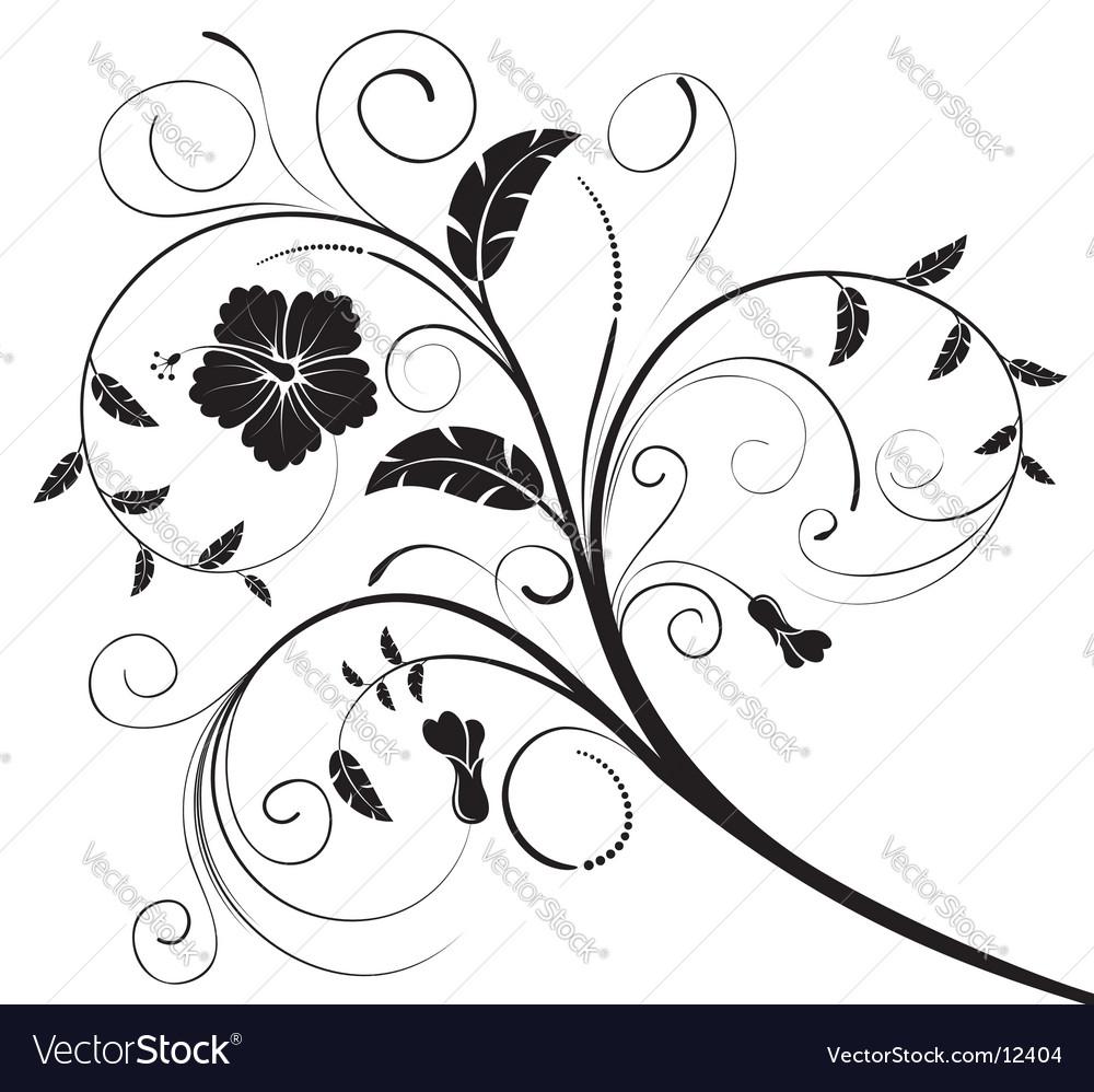 Background-flower vector | Price: 1 Credit (USD $1)