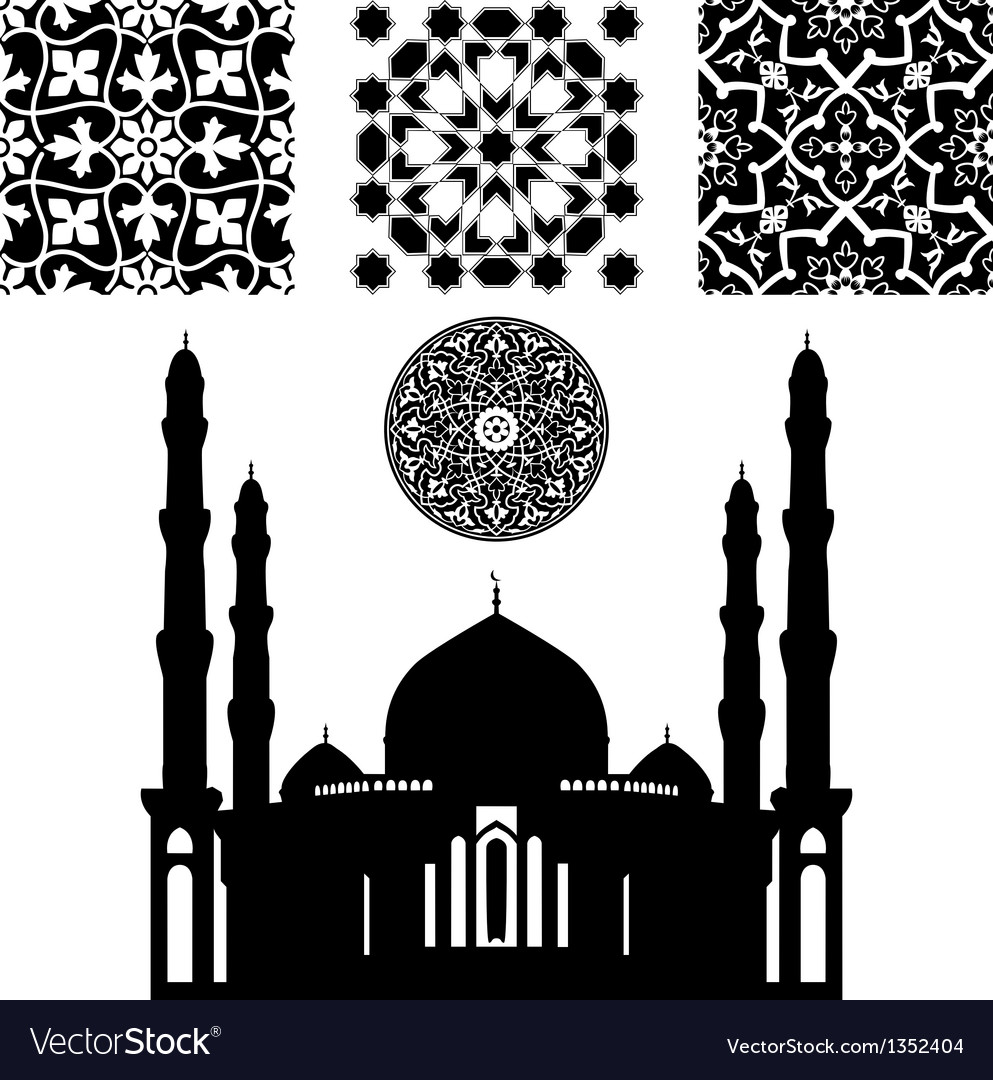Islamic pattern vector | Price: 1 Credit (USD $1)