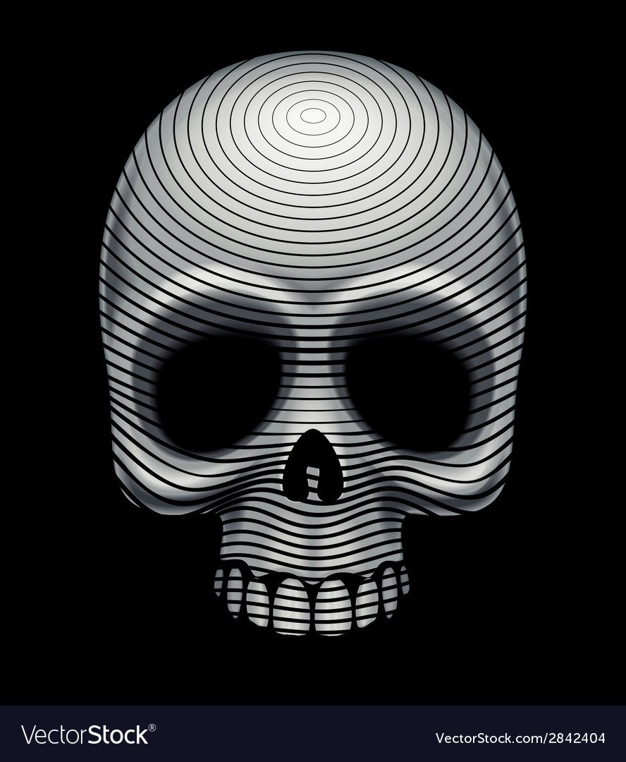 Skull engraving imitation vector | Price: 1 Credit (USD $1)