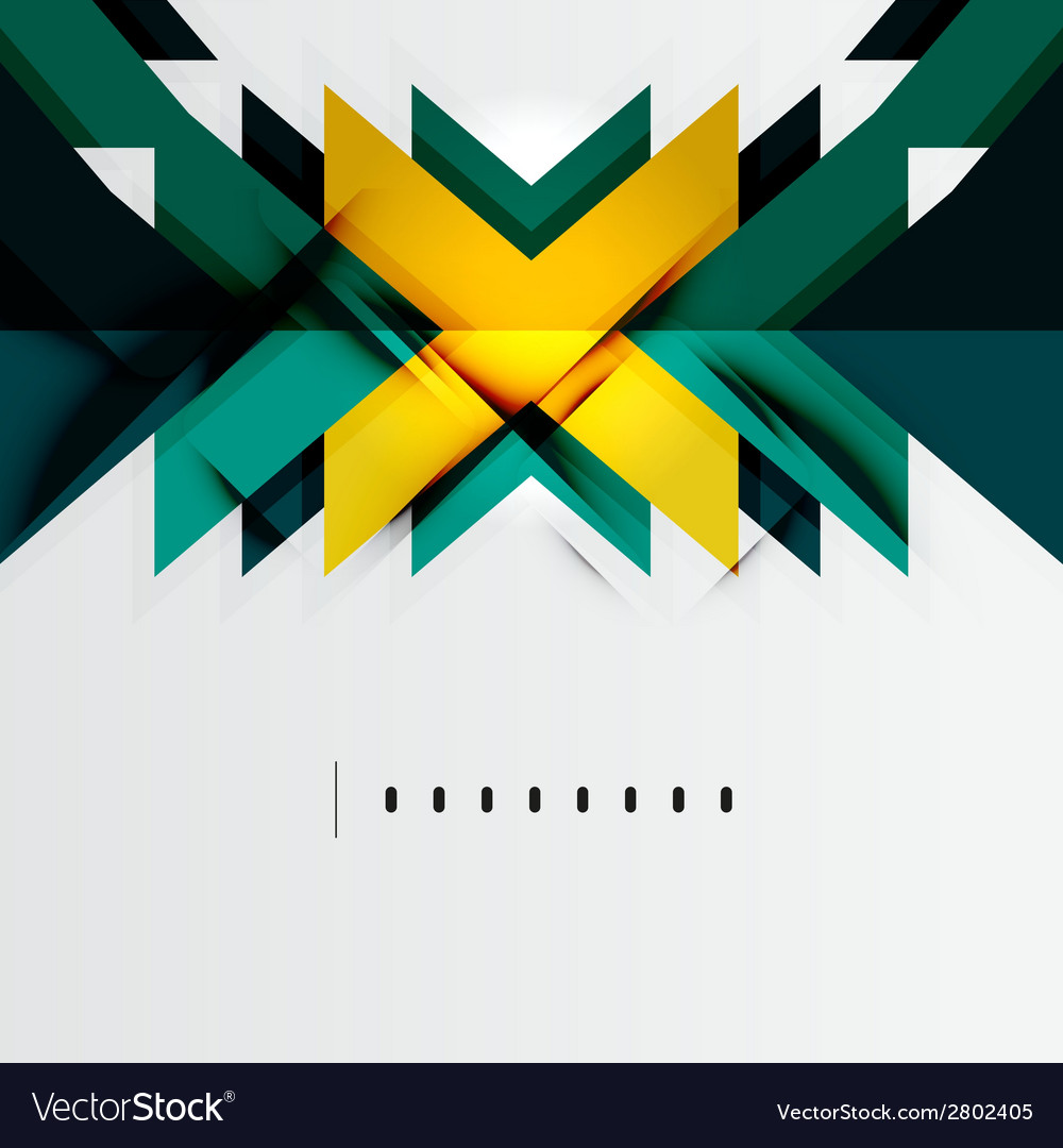 Futuristic geometric shapes minimal design vector | Price: 1 Credit (USD $1)