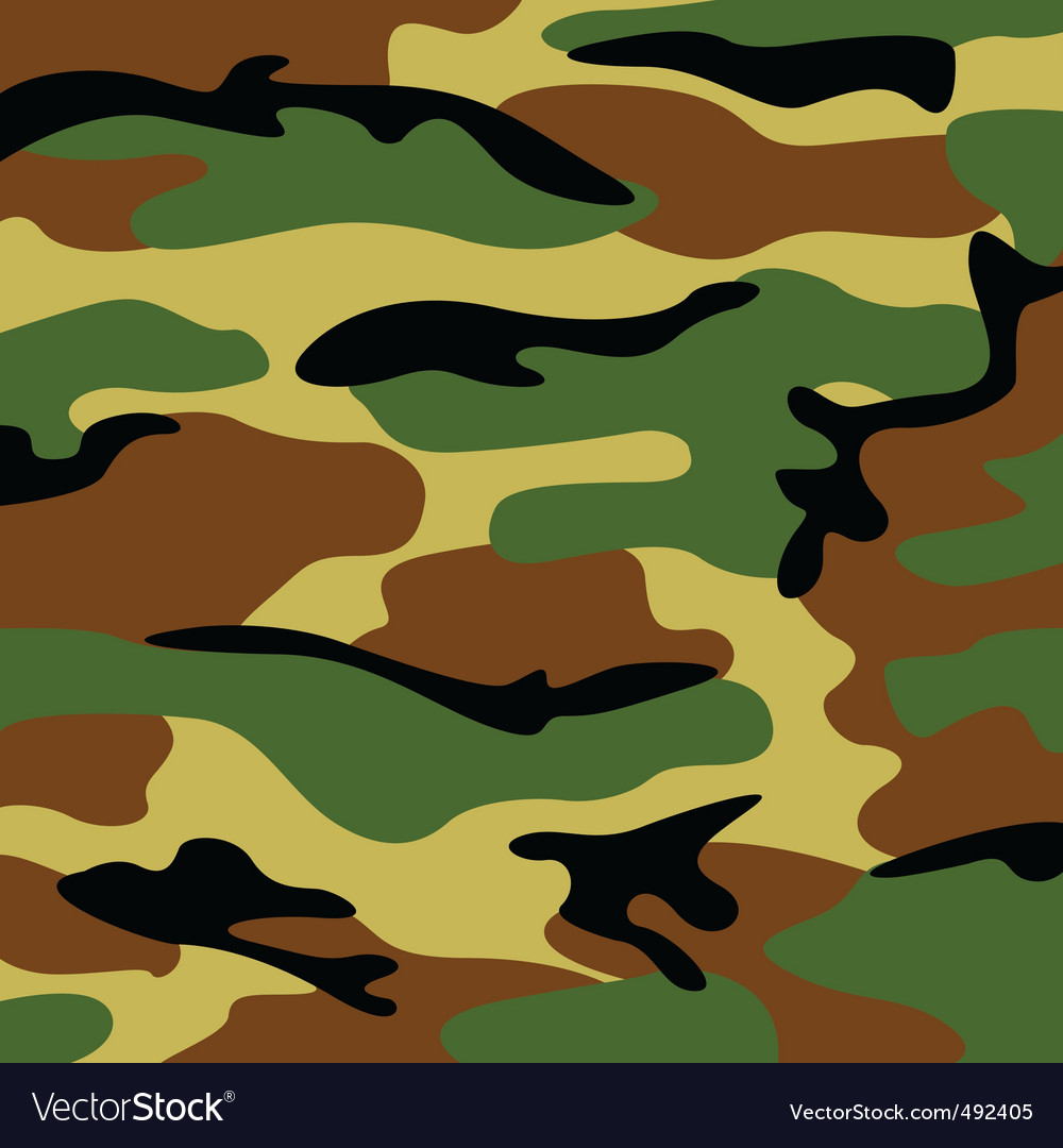 Military camouflage vector | Price: 1 Credit (USD $1)