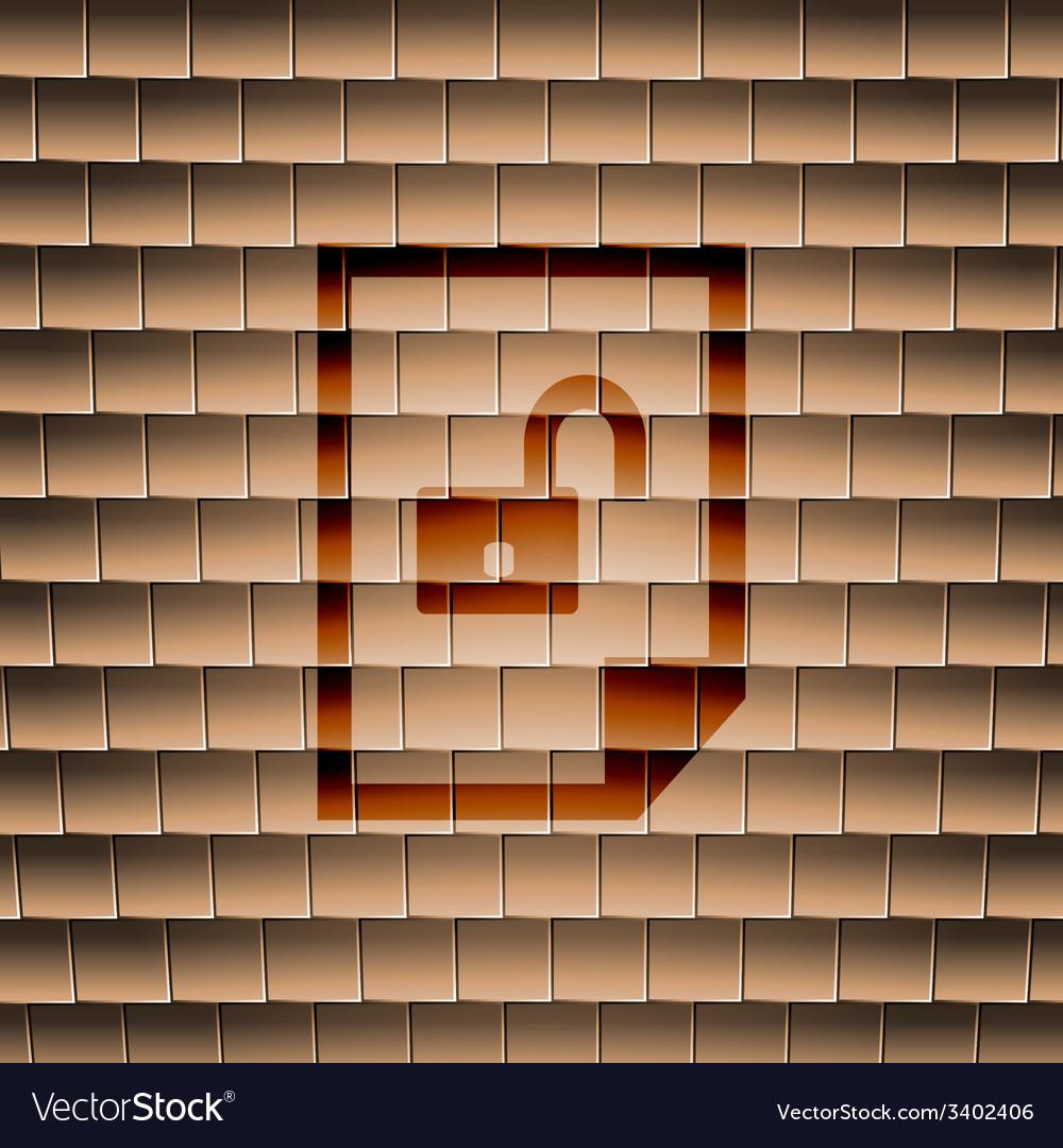 File unlocked icon symbol flat modern web design vector   Price: 1 Credit (USD $1)
